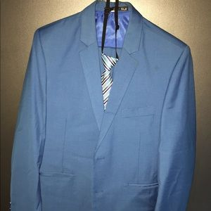 Tazio 3-piece suit 2 button in Baby Blue